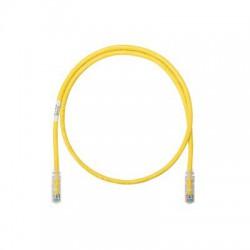 Cable de parcheo UTP Categoría 6, con plug modular en cada extremo - 6 m. - Amarillo