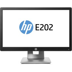 "Monitor HP 20"" altura ajustable Marca HP Modelo E202 LED"