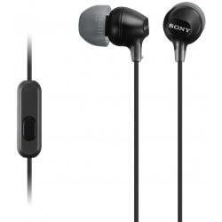 Audífonos Sony internos MDR-EX15LP Color Negro