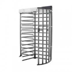 Torniquete para uso en intemperie de cuerpo completo, bidireccional acabado en acero galvanizado.