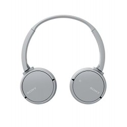 Audífonos Sony inalámbricos ZX220BT con Bluetooth® y NFC One-Touch Gris