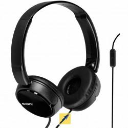 Audífonos Sony de diadema MDR-ZX310AP con manos libres. Negro