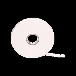 Cinta Doble Cara, con Adhesivo Acrílico, 12.7mm de Ancho, Rollo de 6.4m, Color Blanco
