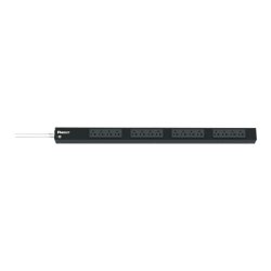 PDU Básico para Distribución de Energía, Enchufe de Entrada NEMA 5-20P, Con 16 Contactos NEMA 5-20R, de Instalación Vertical