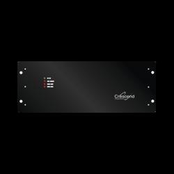 Amplificador Ciclo Continuo, 380-406 MHz, Entrada 10-20 W /Salida 100 W, 25 A, 13.8 Vcd, N Hembra.