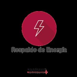 Respaldo de Energía con Batería incluida (Hasta 8 horas).