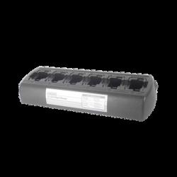 Multicargador rápido (6 Cavidades) de escritorio para radio Motorola APX6000XE/7000/XE/8000/XE/ para baterías NNTN7034/7038