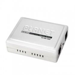 Divisor de Voltaje PoE 802.3af a 5VCD/12VCD de 1 Puerto Gigabit