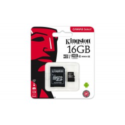Tarjeta Micro SD Class 10 Canvas Select  80MB  de 16GB