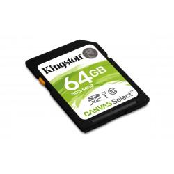 Tarjeta SD 64GB  Canvas Selec Class 10 80MB/seg (lectura)