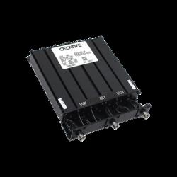 Duplexer CELWAVE Rechazo de Banda compacto de 6 Cavidades, 450-470 MHz., 50W.