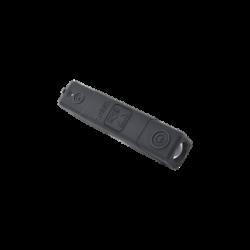 Batería de respaldo Li-Ion 3,000 mAh con cubierta plástica protectora y salida USB para cargar dispositivos inalámbricos
