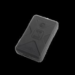 Batería de respaldo Li-Ion 12,000 mAh con cubierta plástica protectora y salida USB para cargar dispositivos inalámbricos