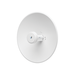 PowerBeam airMAX AC hasta 330 Mbps, frecuencia 2 GHz (2412-2472 MHz), antena tipo plato 18 dBi, Radio Wi-Fi de administración