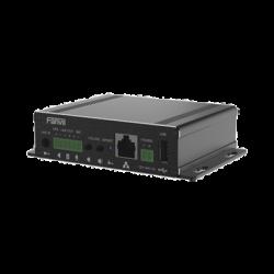 Gateway para Voceo IP/SIP, Entrada de audio (3.5mm), salida de amplificador integrado de hasta 30W, puerto USB (reproducción d