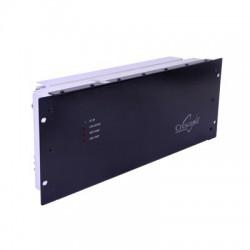 Amplificador Ciclo Continuo, 850-866MHz, Entrada 250-500mW / Salida 80 W, 13.8 Vdc.