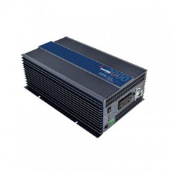 Inversor de corriente Onda Pura 3000W, Ent:24 Vcd, Sal:120Vca, 60Hz