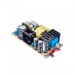 Fuente de poder 12V, 2.8A, industrial conmutada sin gabinete, con circuito cargador de baterías