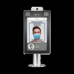 Lector de Rostros / Detección de temperatura corporal / SIN CONTACTO / Acepta Selfies / Reconocimiento a 2.5 metros / ADMS GRA