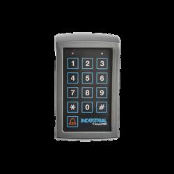 Teclado de Acceso Inalámbrico, Opera con Batería de 9V, Compatible con Receptor de Acceso PROKEYPADW.