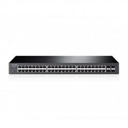 Switch TP-LINK Inteligente de 48 Puertos Gigabit con 4 ranuras SFP JetStream