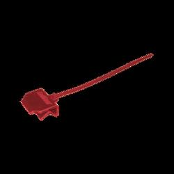 Clip-cincho Plástico para sujetar cable de detección lineal de temperatura en charolas de cable, paquete con 100 piezas