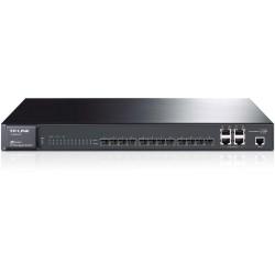 Switch TP-LINK Administrable JetStream de 12 puertos Gigabit SFP L2 switch gestionado con 4 puertos