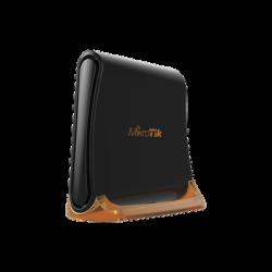 (hAP mini) Router 3 puertos 10/100 Mbps, Wi-Fi 2.4 GHz 802.11 b/g/n, Antena 360º 1.5 dBi, hasta 158 mW de potencia