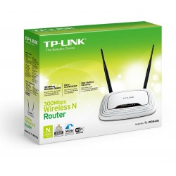 300Mbps Wireless N Router Atheros 2T2R 24GHz 80211ngb Built-in 4-port Switch with 2 detach