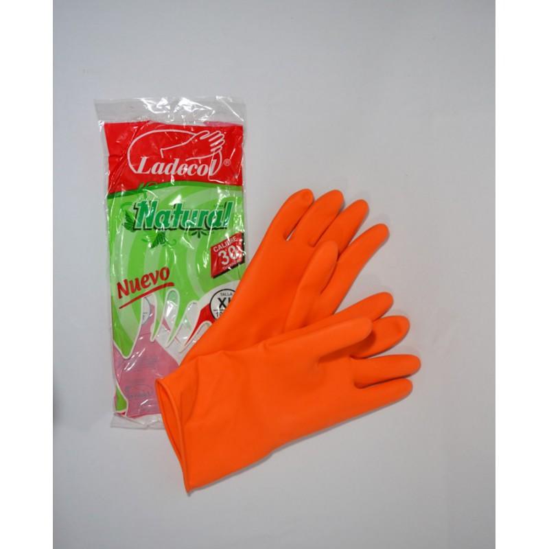 Guante Latex Protex C30 Naranja