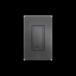 Atenuador (dimmer) un solo polo/multilocación 120VCA/600W (INC/MLV/HAL) o 150W (CFL/LED), apaga, enciende y atenúa iluminació