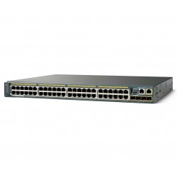 Catalyst 2960-X 48 GigE PoE 370W 4 x 1G SFP LAN Base