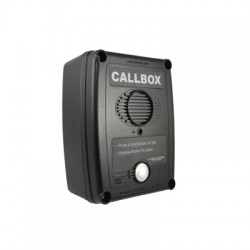 Callbox, Intercomunicador Inalámbrico Vía Radio VHF 150-165MHZ, Serie Q1 en Color Negro