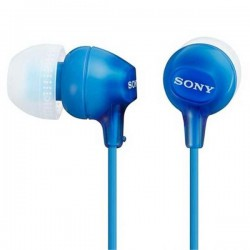 Audífonos Sony internos MDR-EX15LP Color Azul