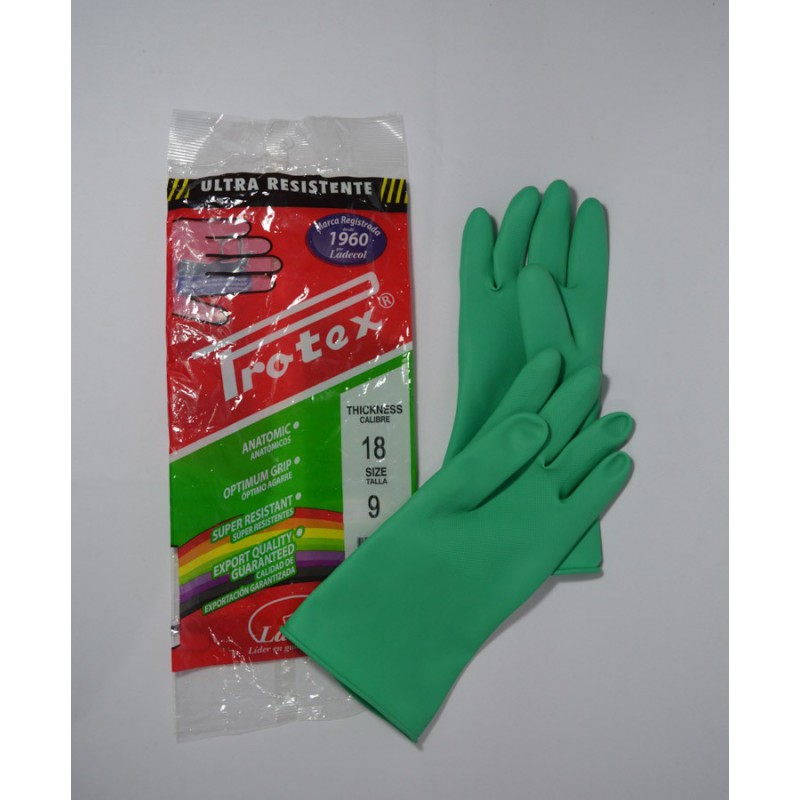 Guante Industrial Protex C18 Verde