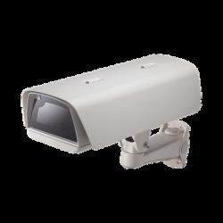 Gabinete PoE con brazo para Cámara tipo Caja con Calefactor y Ventilador