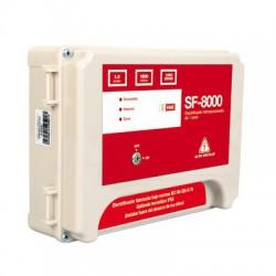 Energizador Robusto para cerca eléctrica de 1.0 Joules de energía, 4.5W de consumo y Soporta baterías de 7Ah.