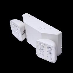 Luz LED de Emergencia/150 lúmenes/Luz fría/Batería de Respaldo Incluida/Botón de test.