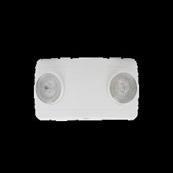 Luz LED de Emergencia ultra compacta/150 lúmenes/Luz fría/Batería de Respaldo Incluida/Botón de test.