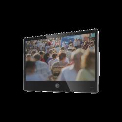 "Monitor de Vista Publica de 27"" con Cámara 2 Megapíxel Integrada (Color Negro)"