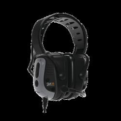 Protector auditivo IS de diadema rígida sobre la cabeza con cable integrado para MOTOROLA MOTOTRBO