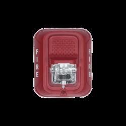 Lámpara Estroboscópica para Montaje en Pared, Color Rojo, Nivel de Candelas Seleccionable, Nuevo Diseño Moderno y Elegante y