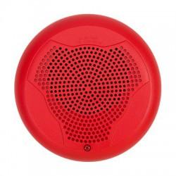 Bocina para Montaje en Techo, Color Rojo