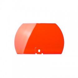 Lente de color rojo para modelo 450142-05 (domo transparente)