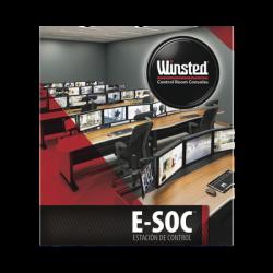 Mueble de Monitoreo E-SOC para 2 Operadores