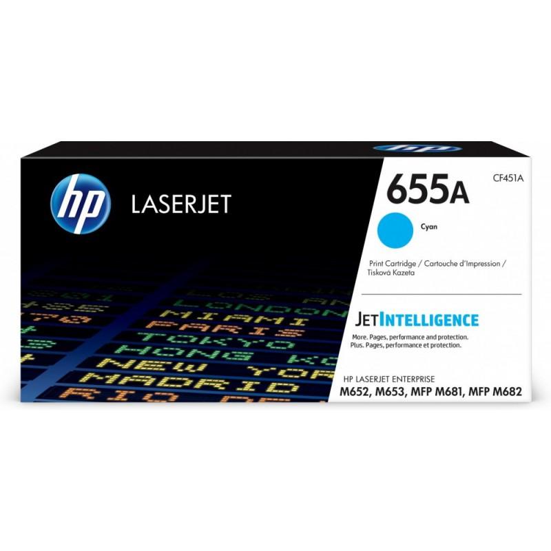 TONER HP CYAN LaserJet Enterprise Color M652 series
