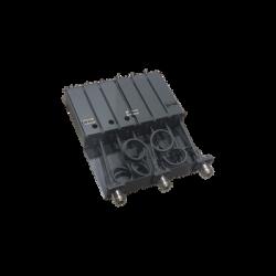 Duplexer Móvil, 6 Cavidades, 136-148 MHz, 50 Watt, conectores N Hembra.