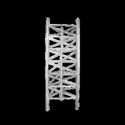 Tramo de Torre de Desplante de 92 cm de ancho galvanizado por inmersión en caliente.