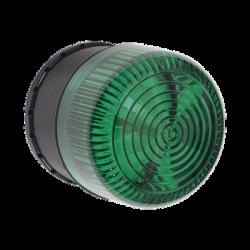 Alarma de Una Zona para Uso en Exterior, Notificación Audible y Visible, Color Verde