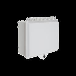 Gabinete de Policarbonato Blanco Súper Resistente, para Uso en Interior o Exterior, Cerradura con Llave